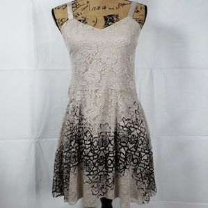 Anthropologie Dresses - NWT Free People Lace Mini Dress